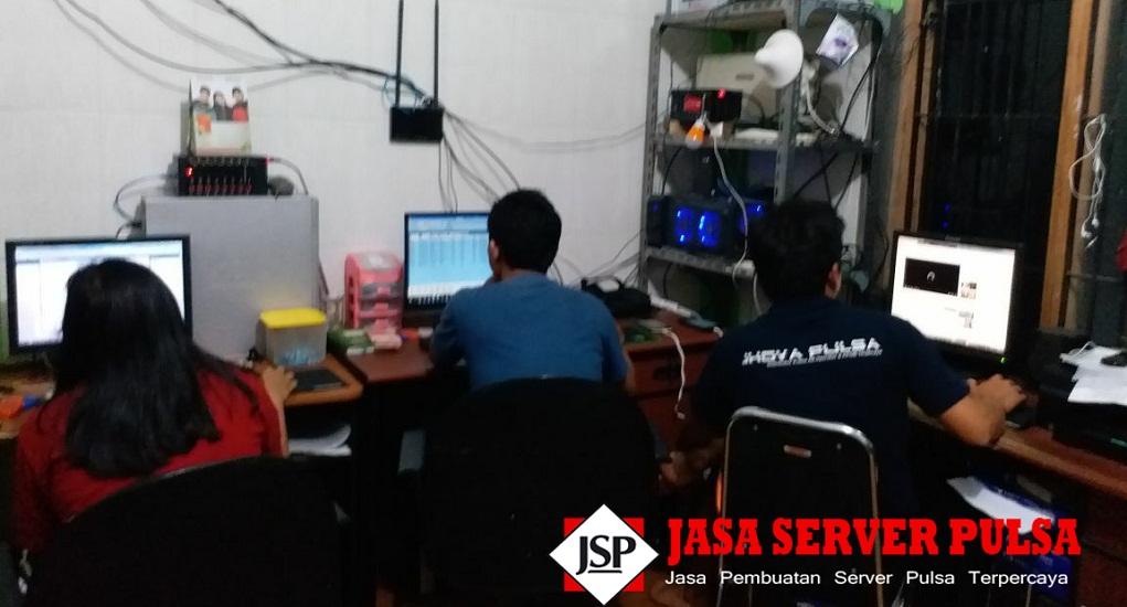 Jasa Pembuatan Server Pulsa