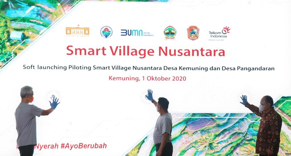 Sokong Desa; Telkom Tengah Mengembangkan Smart Village Nusantara